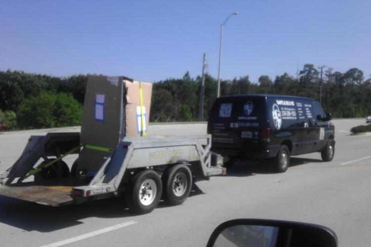 Delivering Safes